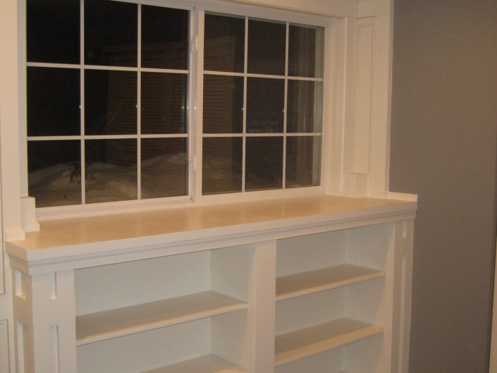 Bookcase & Moldings