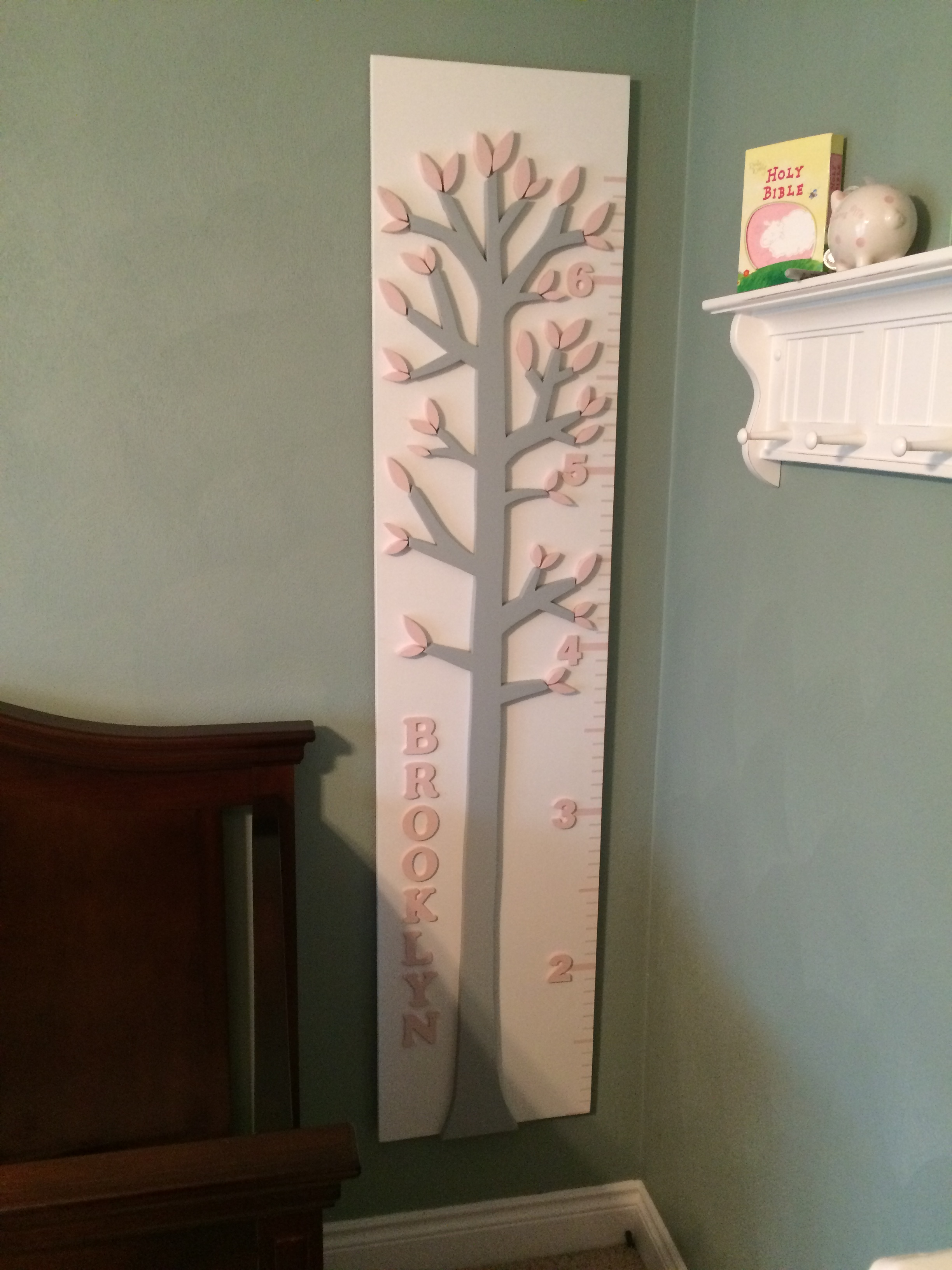 Personalized growth chart end grain nvjuhfo Choice Image